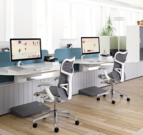 Flo Monitor Supports by Herman Miller