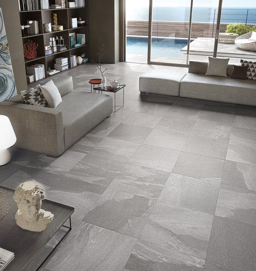 Stonework Ardesia nera 30x60 - Floor tiles by Ceramiche Supergres ...
