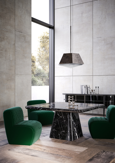 Etoile noire dining table dining tables from giopagani for Miroir noir download