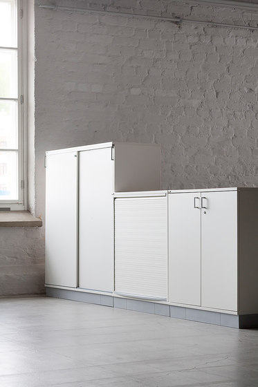 Tendo | roll-front cabinet by Isku