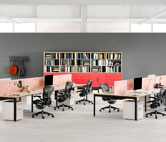 layout studio von herman miller - Herman Miller Tischsysteme