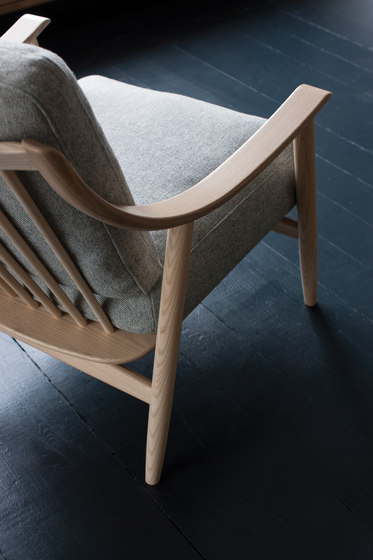 Marino | chair with footstool by ercol
