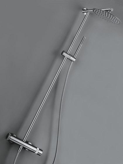Mono 40 Floor Mounted Bath Mixer With Hand Shower Bath