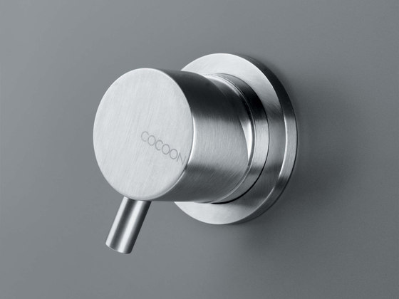 MONO 02THERM | Thermostatic shower/bath mixer with diverter by COCOON