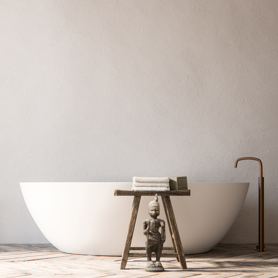 PB SET01 | Wall mounted basin mixer with spout by COCOON