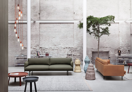 Outline Sofa | 3-seater de Muuto