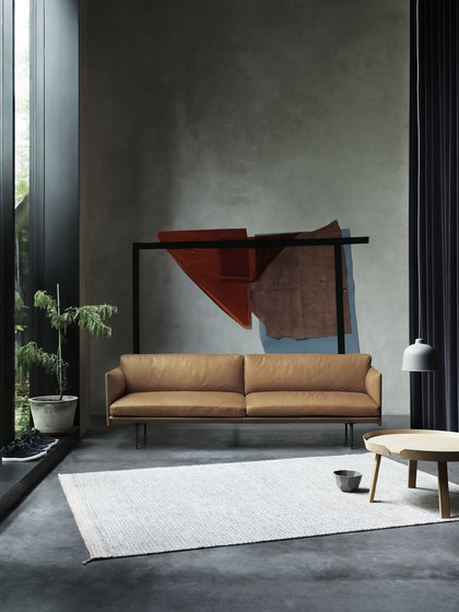 Outline Sofa | Chaise Longue - Left by Muuto