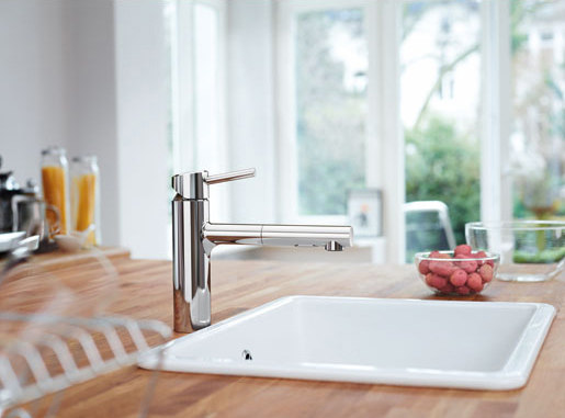 """Concetto Single-lever Prep Sink Mixer 1/2"""" by Grohe USA"""