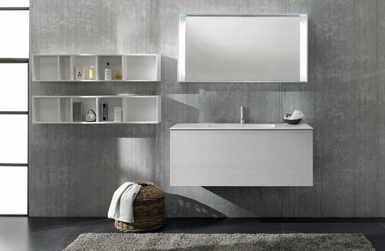 51 furniture | series 1400 wall-mount vanity by Blu Bathworks