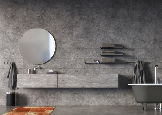 Quadra Towel Bar 5 by Frost