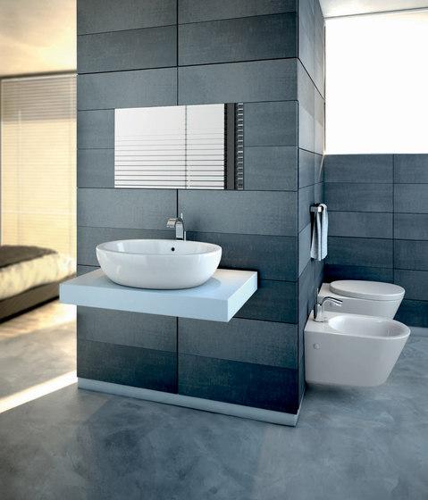 Strada Aufsatzwaschtisch 500mm (Rückwand glasiert)   Wash basins