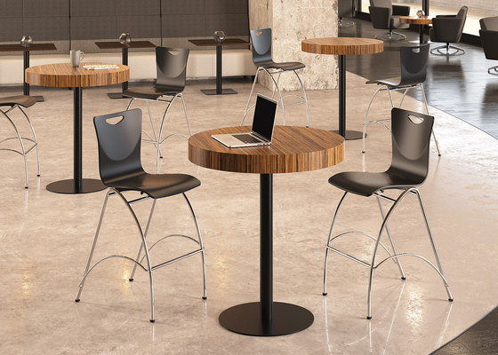 Jewel Armless Stool by National Office Furniture