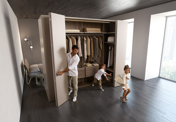 Camerino DB   walk-in wardrobe de CACCARO