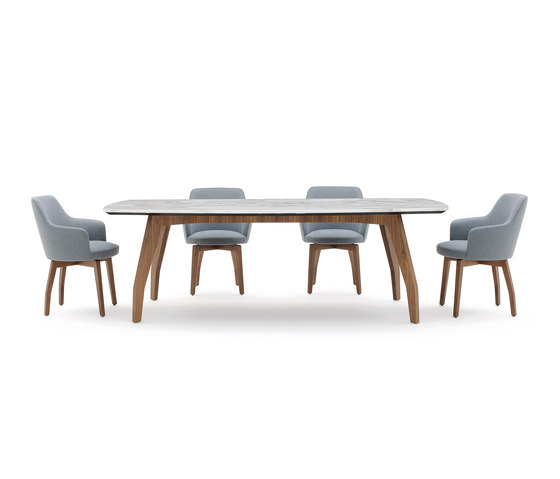 Allen 2 Table by Alberta Pacific Furniture