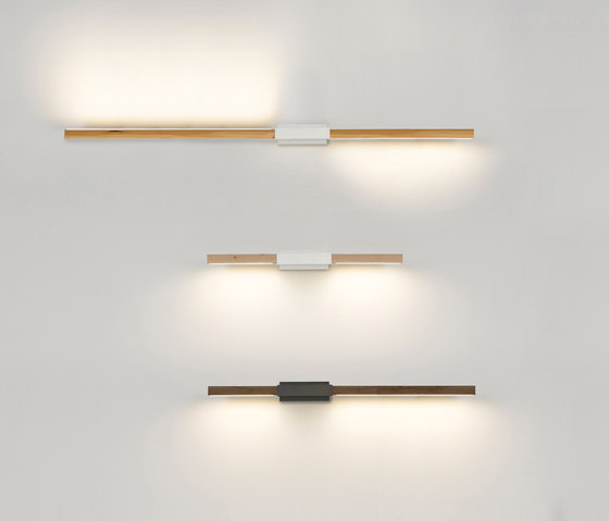 3 ft Horizontal Asymmetrical Sconce de STICKBULB