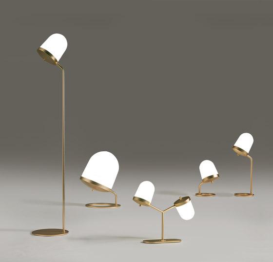 Lula lampada da tavolo piccola bassa di Penta