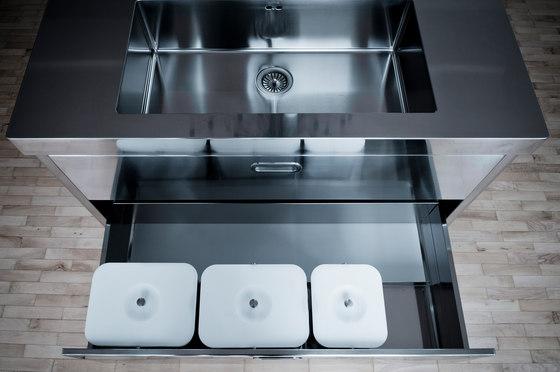 160 kitchens modular kitchens by alpes inox architonic - Blocco cucina 160 cm ...