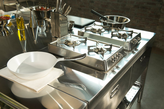 Kitchen Islands 250 by ALPES-INOX