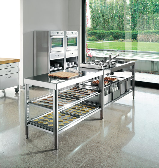 Back fen f600 back fen von alpes inox architonic for Cucina h 210