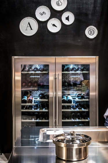 Wine Cooler Columns by ALPES-INOX