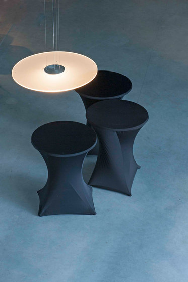 GHOST DISC Suspended light by FERROLIGHT Design