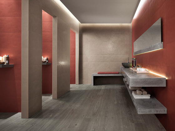 Color Now Marsala di Fap Ceramiche