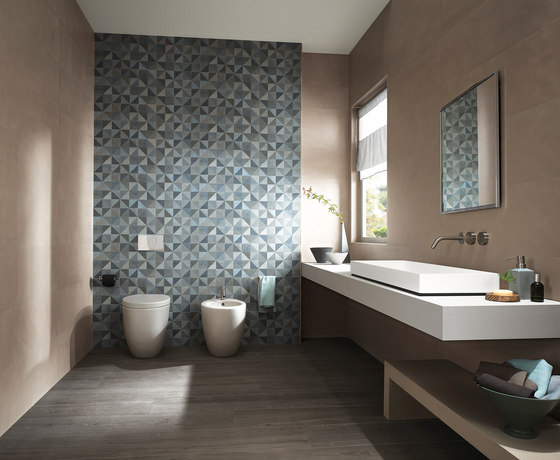 Color Now Tangram Avio Inserto by Fap Ceramiche