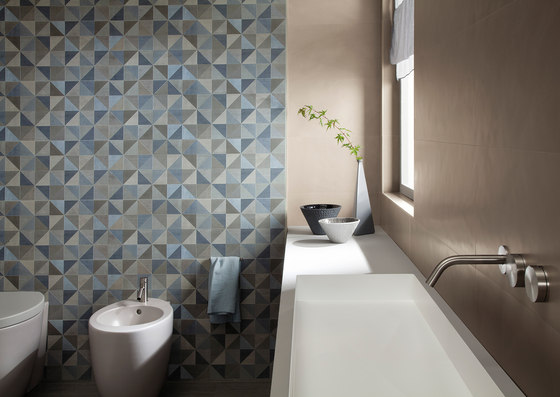 Color Now Perla Round Mosaico di Fap Ceramiche