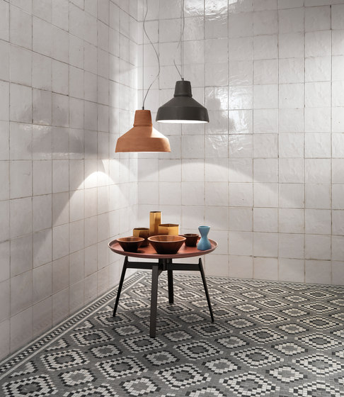 Firenze Heritage Decò Grigio Angolo Fascia Mosaico by Fap Ceramiche