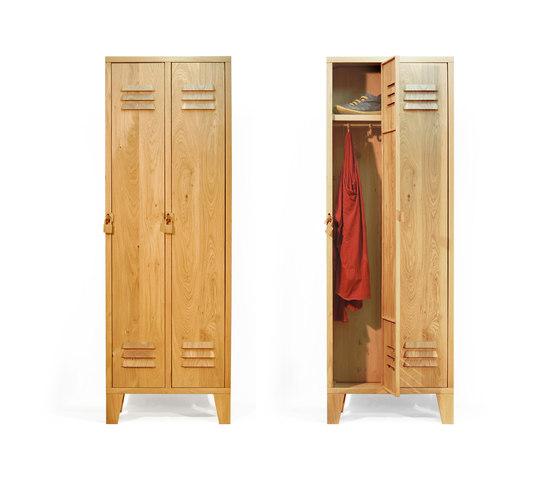 Locky 2 Solid Oak cabinet de Tuttobene