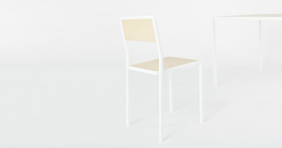 Knee Chair wood for New Duivendrecht by Tuttobene