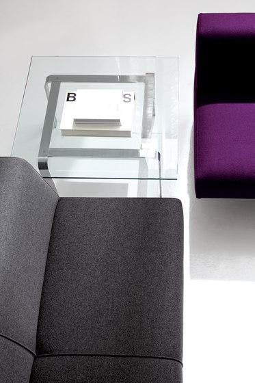 Spectrum Lounge Three-Seater Sofa with Wings de Studio TK