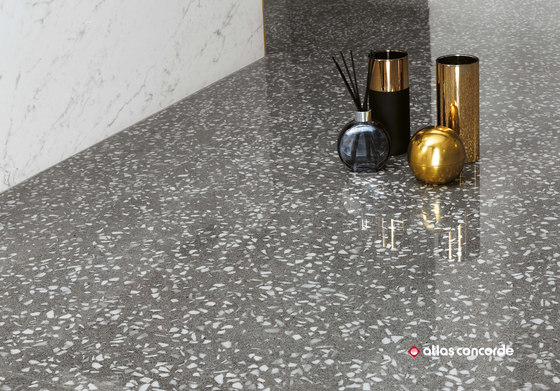 Marvel Gems terrazzo grey by Atlas Concorde