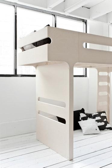 F bunk bed - whitewash di RAFA kids