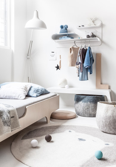 A90 (A teen bed) - white by RAFA kids