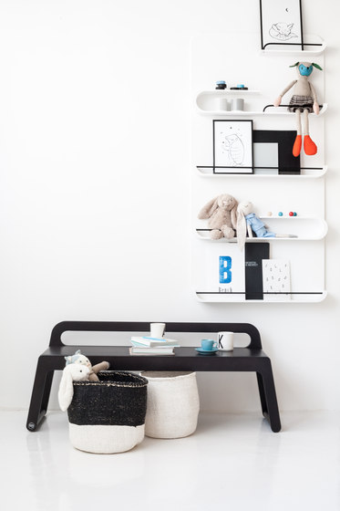 BB90 bench - white de RAFA kids