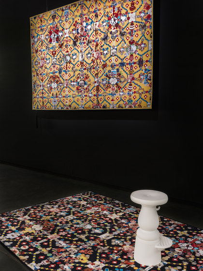 Obsession| yellow rug by moooi carpets