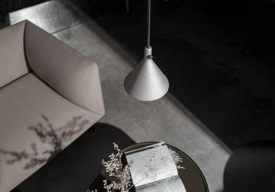 Cast Pendant | Shape 2 Aluminum by MENU