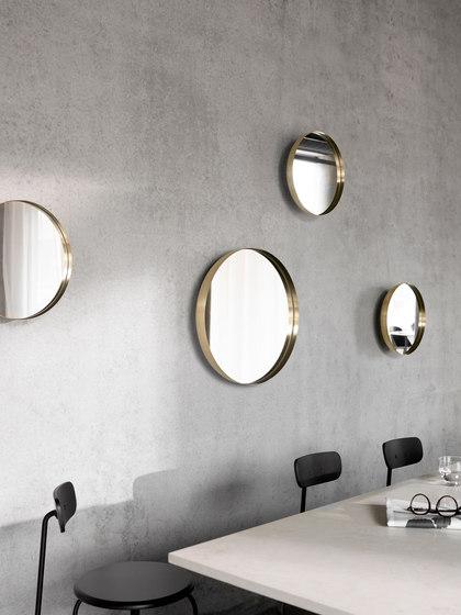 Darkly Mirror | Brushed Brass by MENU