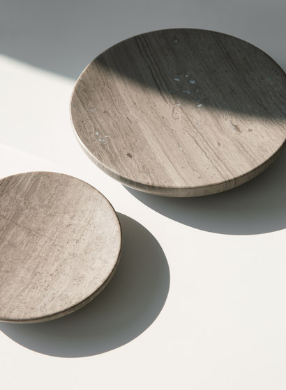 Hover Bowl | S Honed Brown Marble by MENU