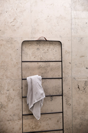 Towel Ladder   Black/Dark Ash by MENU