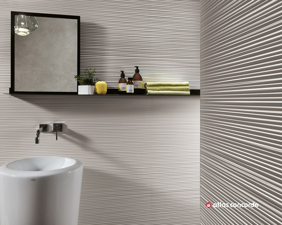 3D Wall Diamond White von Atlas Concorde
