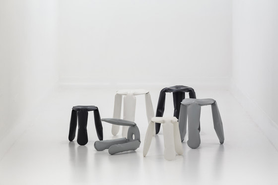 Plopp Stool | Kitchen | white von Zieta