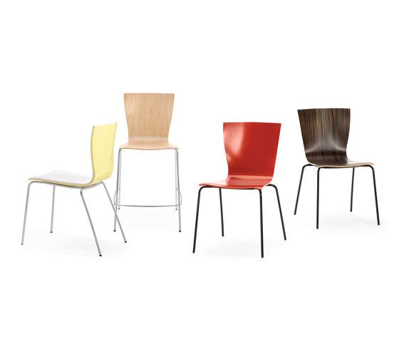 Crepe Side Chair by Leland International