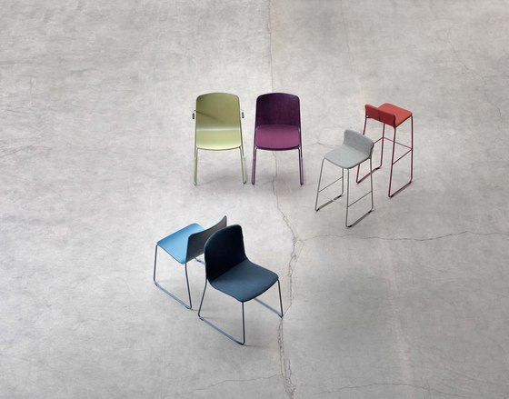 Robbie covered seat by Johanson