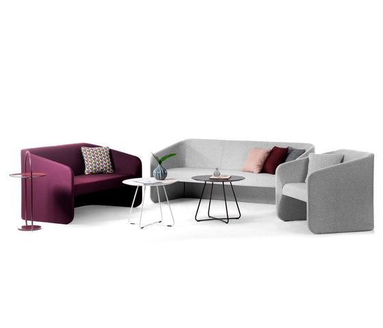 Race 3 seater sofa with screen de Johanson
