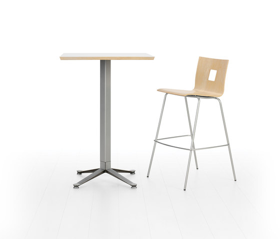 Croix Bar Table by Leland International