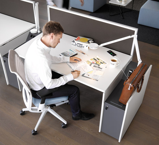 FrameFour Conferencing Table by Steelcase