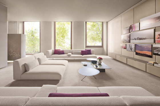 Move Indoor | Modular seating system von Paola Lenti