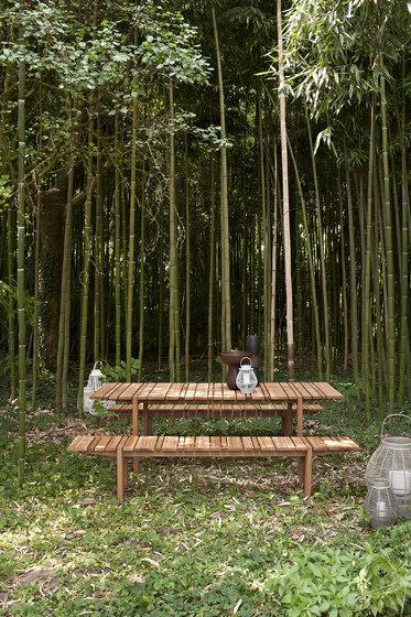 Paraggi bench by Exteta